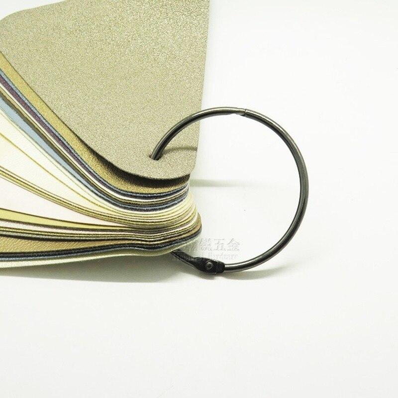 8PCS 50MM ring buckle iron ring loose-leaf ring buckle diy card ring circle ring binding ring card ring curtain ring недорого