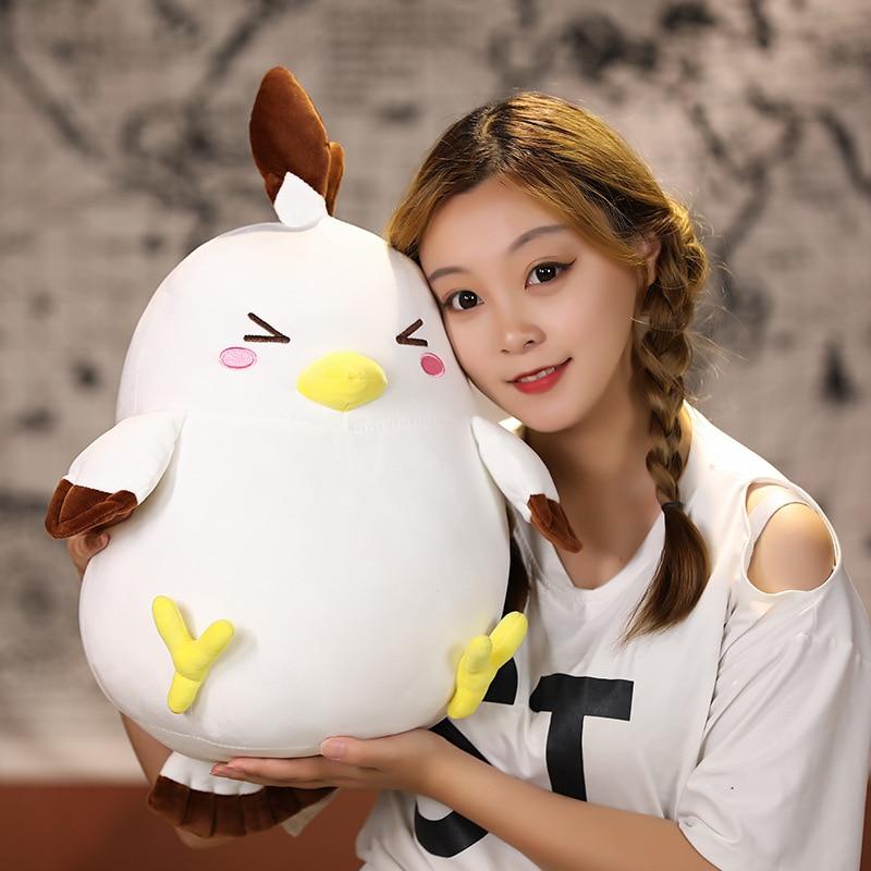 New Geshin Impact Kaedehara Kazuha Chicken Doll Plush Cuddle Pillow Toy Plush Toy