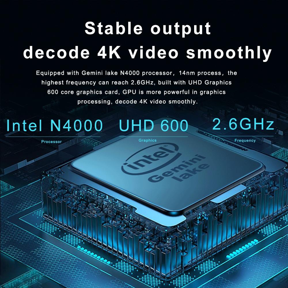 CHUWI Original HeroBook Pro 14.1 Inch Laptop  Intel Gemini lake N4000 Dual core Windows 10  8GB RAM 256GB SSD Laptop
