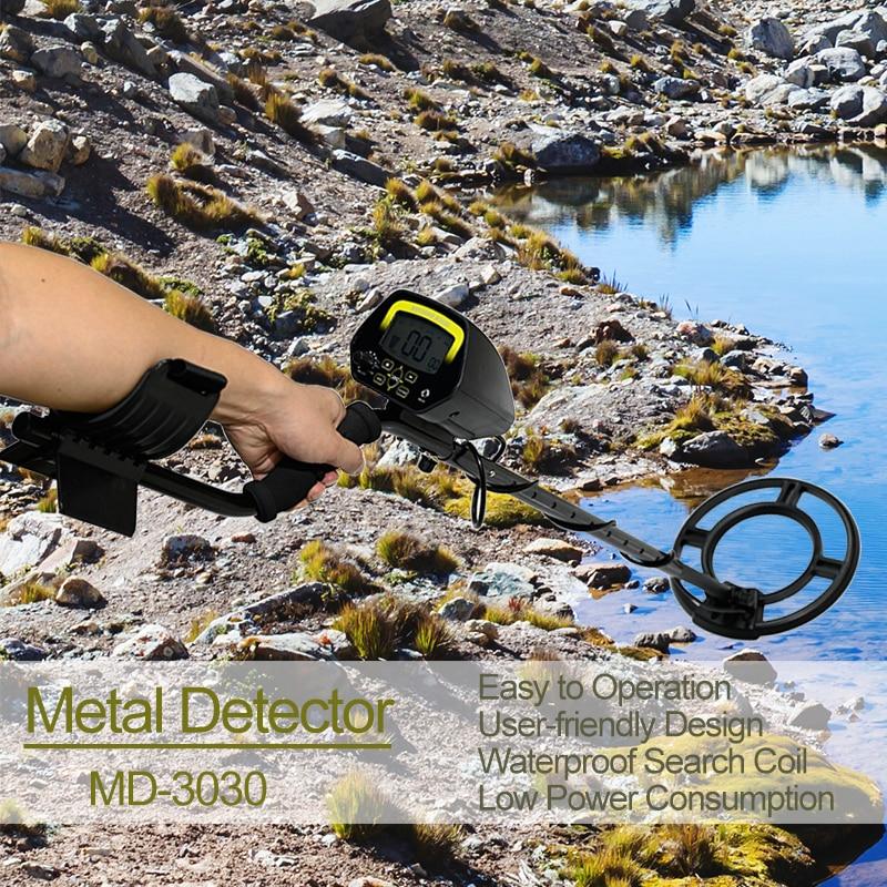 للكشف عن المعادن MD-3030 المهنية تحت الأرض عمق للكشف عن المعادن حساسية عالية للكشف عن الذهب الكنز هنتر مؤشر