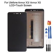 Оригинальный для Ulefone Armor X3 ЖК-дисплей инструмент для ремонта сенсорного экрана в сборе Запчасти для Ulefone Armor X5 экран ЖК-дисплей