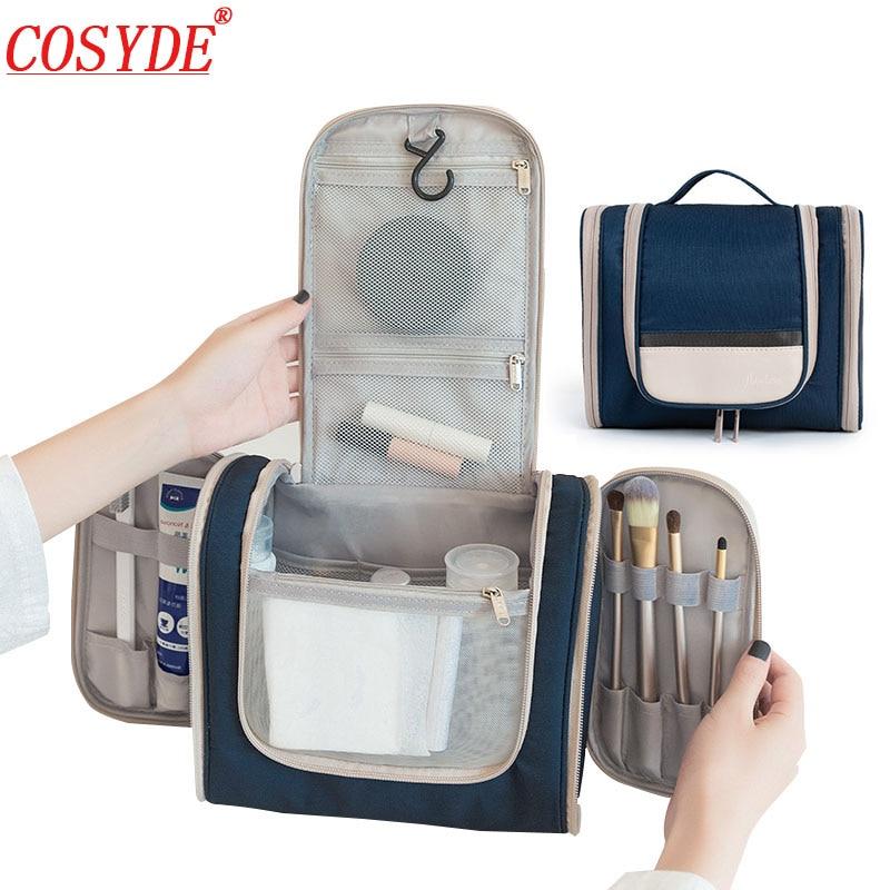 Bolsa de maquillaje 2020 impermeable, bolsa de cosméticos colgante de viaje para hombres, neceser de viaje para hombres, neceser de maquillaje de belleza para mujeres