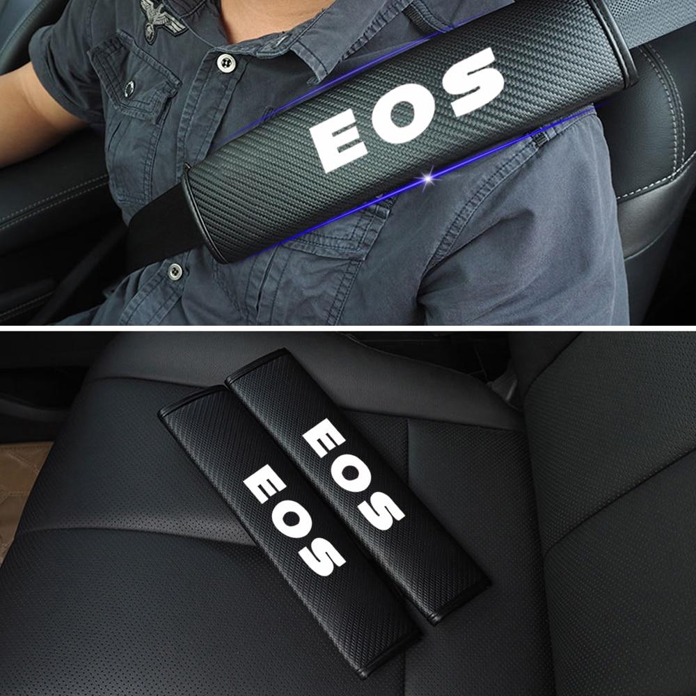 Светоотражающий автомобильный ремень безопасности, Наплечные колодки, безопасный ремень безопасности, чехол для Volkswagen VW EOS, автомобильный ...