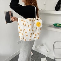 fashion printed women canvas shoulder bag female student girls book handbags large capacity ladies eco shopping bags casual tote