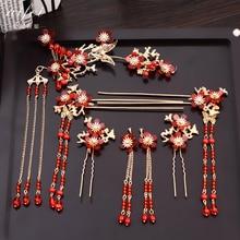 wholesale Jewelry set 10pc The new Korean hair clip Bank Hotel mobile telecom property occupation female headdress flower