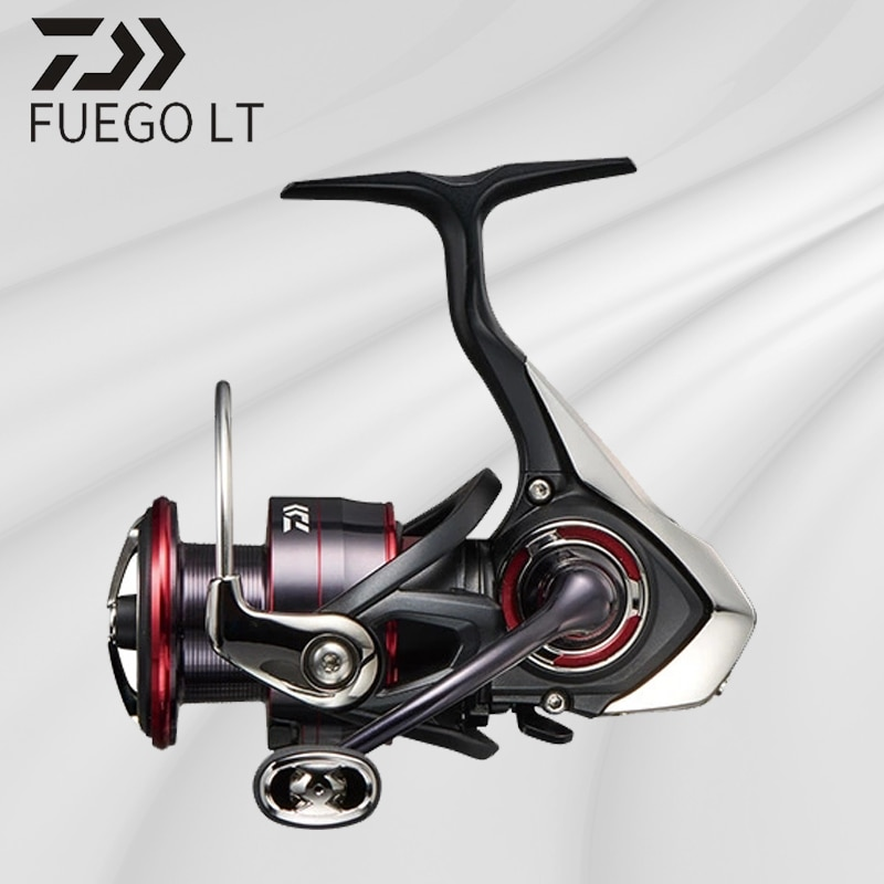 DAIWA FUEGO LT Fishing Reel Seawater Spinning Reels  LOW&HIGH GEAR RATIO 1000-6000D Light & Tough Body 6+1BB 5-12kg Power