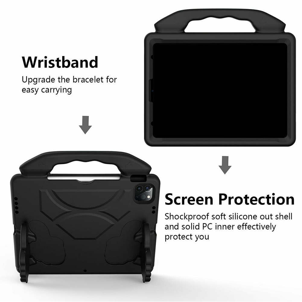 Air A2316 Tablet iPad A2324 4 2020 EVA Case Safe Cover Kids Case Stand Handle for