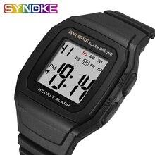 SYNOKE männer Uhren Relogio Masculino Multi Funktionale Sport Elektronische Uhr Männer Wasserdichte Frauen Platz Marke Luxus Band