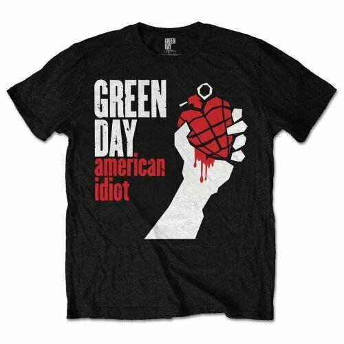 Camiseta de Green Day, camiseta negra oficial para hombre, nueva camiseta Punk Rock