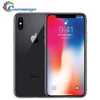 Original Apple iPhone X 64GB/256GB ROM 5.8 inch 3GB RAM  Core iOS A11 Dual Back Camera 4G LTE Unlock iphone x