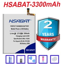 HSABAT 3300mAh Original BQ Battery 2850 Mobile Phone Replacement Batteries for BQ Aquaris E5 4G LTE E5S