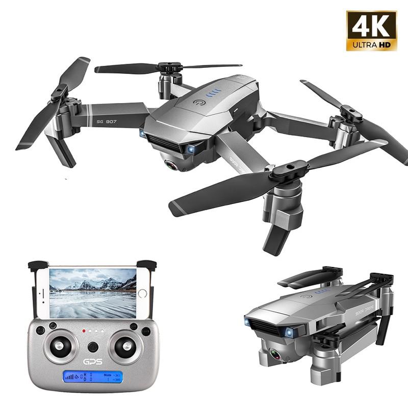 SG907 GPS Drone with Camera 4K 5G Wifi RC Quadcopter Optical Flow Foldable Mini Dron 1080P HD Camera Drone VS E520S E58 XS812