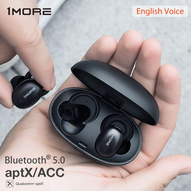 Еще 1 E1026BT стильные беспроводные наушники Bluetooth 5,0 в ухо мини Спортивная гарнитура Поддержка aptX ACC с микрофоном чип Qualcomm