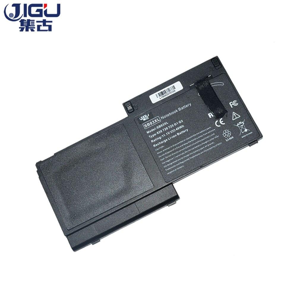 JIGU NEW 6cells Laptop Battery SB03XL 717378-001 E7U25AA HSTNN-l13C SB03046XL For HP for EliteBook 7