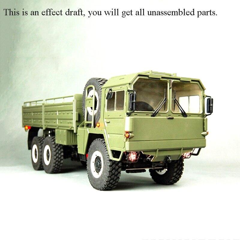 الصليب RC 1/12 MC6A قبالة الطريق العسكرية شاحنة سيارة الزاحف 3 محاور عدة نموذج المحرك ث/س ESC في الهواء الطلق لعب للأولاد هدية TH10480-SMT6