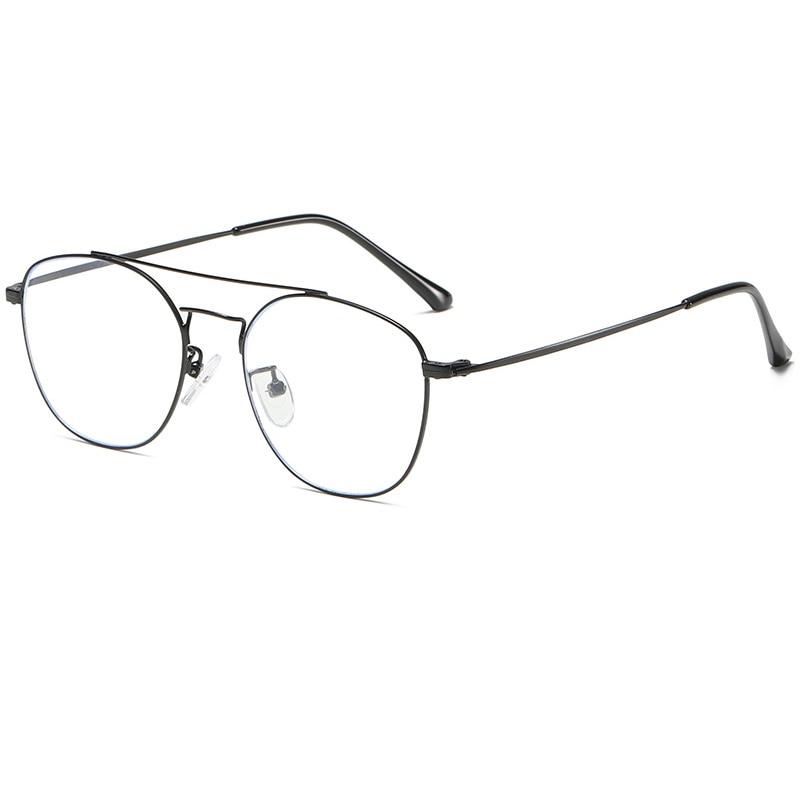 Gafas con marco óptico Vogue con bloqueo de luz azul UV400 para lectura en ordenador, gafas con luz anti azul