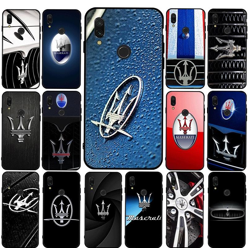 maserati super Cars Phone TPU Case for Xiaomi Mi 9T Pro CC9 CC9E Mix 2S MAX 3 Note 10 9 Lite 10 Ultra X3 NFC F2 Pro 10T Lite
