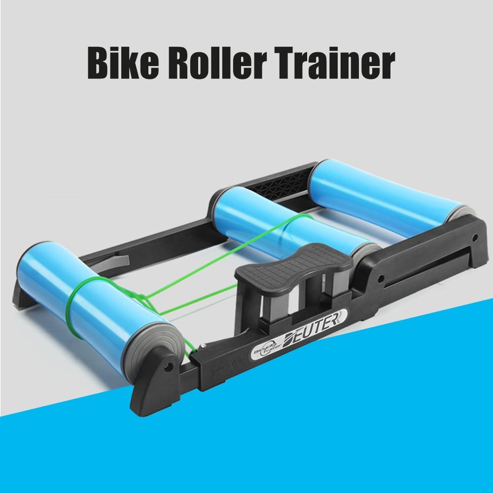 Bike Roller Trainer Riding Platform Aluminium Alloy Mute Indoor Exercise Home Gym MTB Road Cycling platform trainer Adjustable
