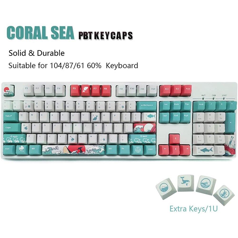 أغطية مفاتيح 108 XDA الشخصي PBT صبغ التسامي أنماط مختلفة أغطية مفاتيح للوحة المفاتيح الميكانيكية ملحقات الكمبيوتر
