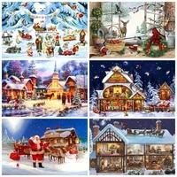 diy diamond painting santa claus snowman full square diamond rhinestone embroidery cross stitch home decoration christmas gifts