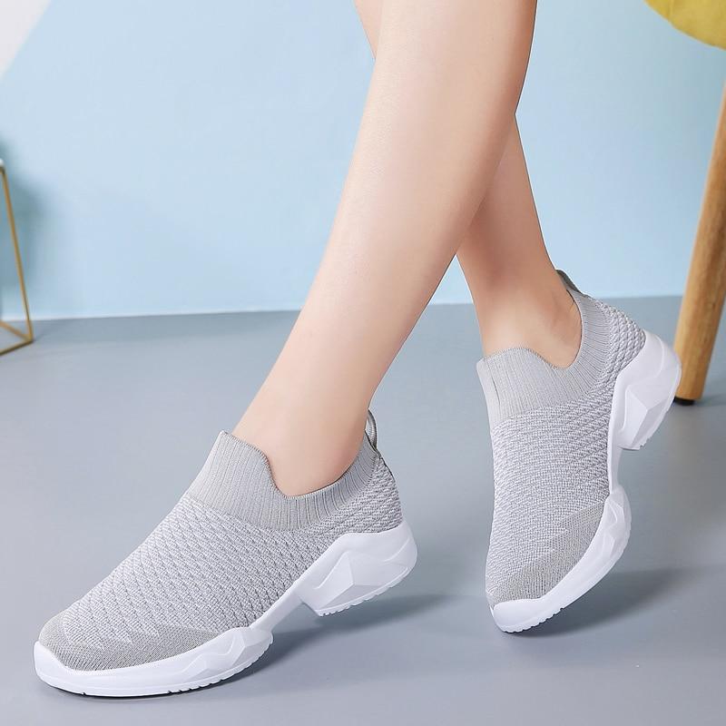 Women Sneakers Tenis Mujer 2020 New Women Tennis Shoes Women Comfort Sport Shoe Female Brand Outdoor Walking Jogging Sneakers 3