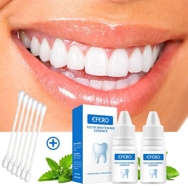 Эссенция для отбеливания зубов EFERO, сыворотка для отбеливания, удаления зубного налета, пятен, гигиена полости рта, свежее дыхание, гигиена п...
