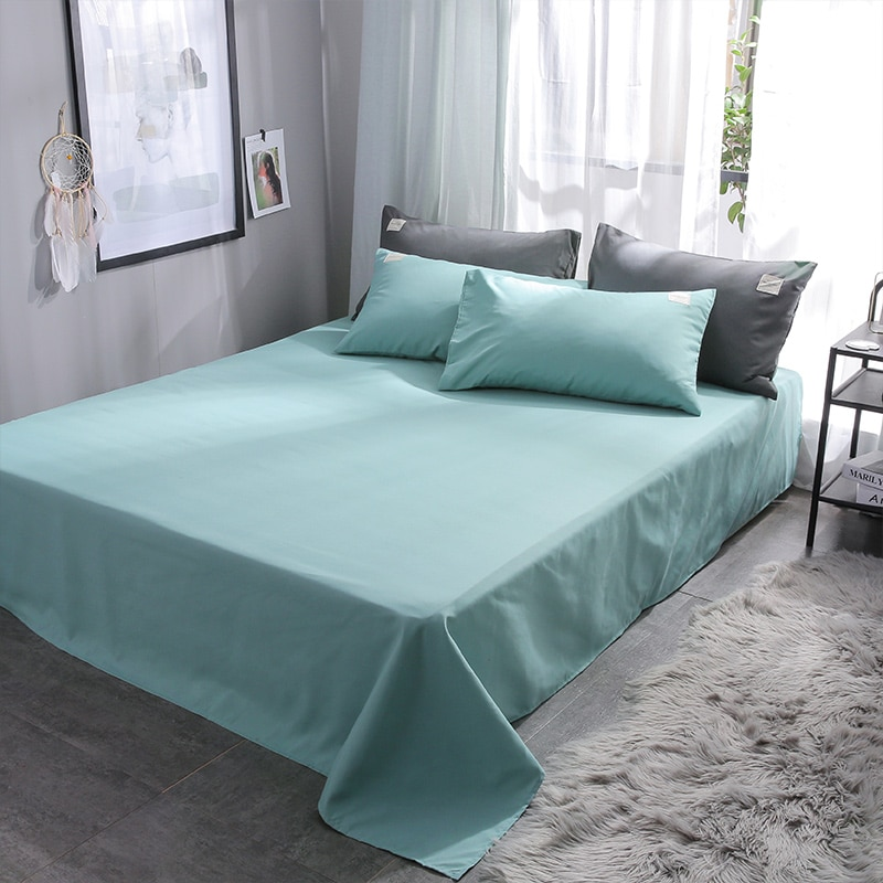 Liv-Esthete New Luxury Green Bedding Set Soft Home Duvet Cover Flat Sheet Double Queen King Adult Bed Linen Bed Sheet As Gift