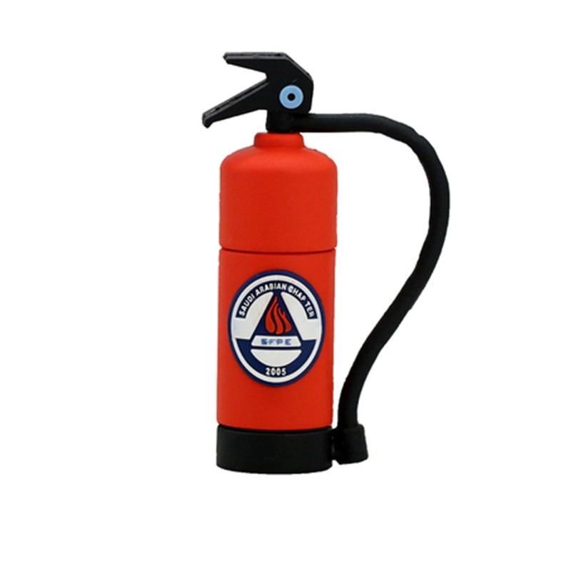 Fire Extinguisher Pen Drive 512GB Usb Flash Drive High Speed Usb 2.0 Flash Memory Card Usb Disk Pendrive 128GB 256GB Thumbdrives