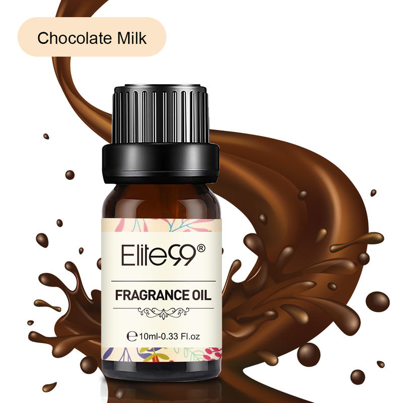 Elite99 10ml Pure Essential Oils Chocolate Milk Fragrance Oil For Aromatherapy Diffusers Orange Pepp