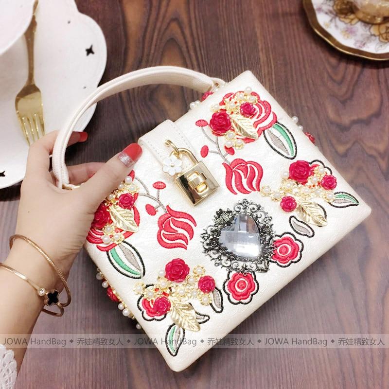 2020 novas senhoras saco barroco pesado indústria bordado mão carry caso bolsa feminina retro bordado bolsa banquete sacos louis