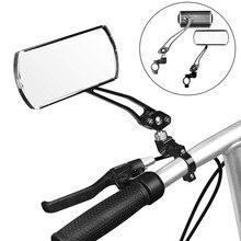 1 paire vélo rétroviseur vélo cyclisme 360 ° rotatif large portée arrière vue réflecteur Angle réglable gauche droite rétroviseurs