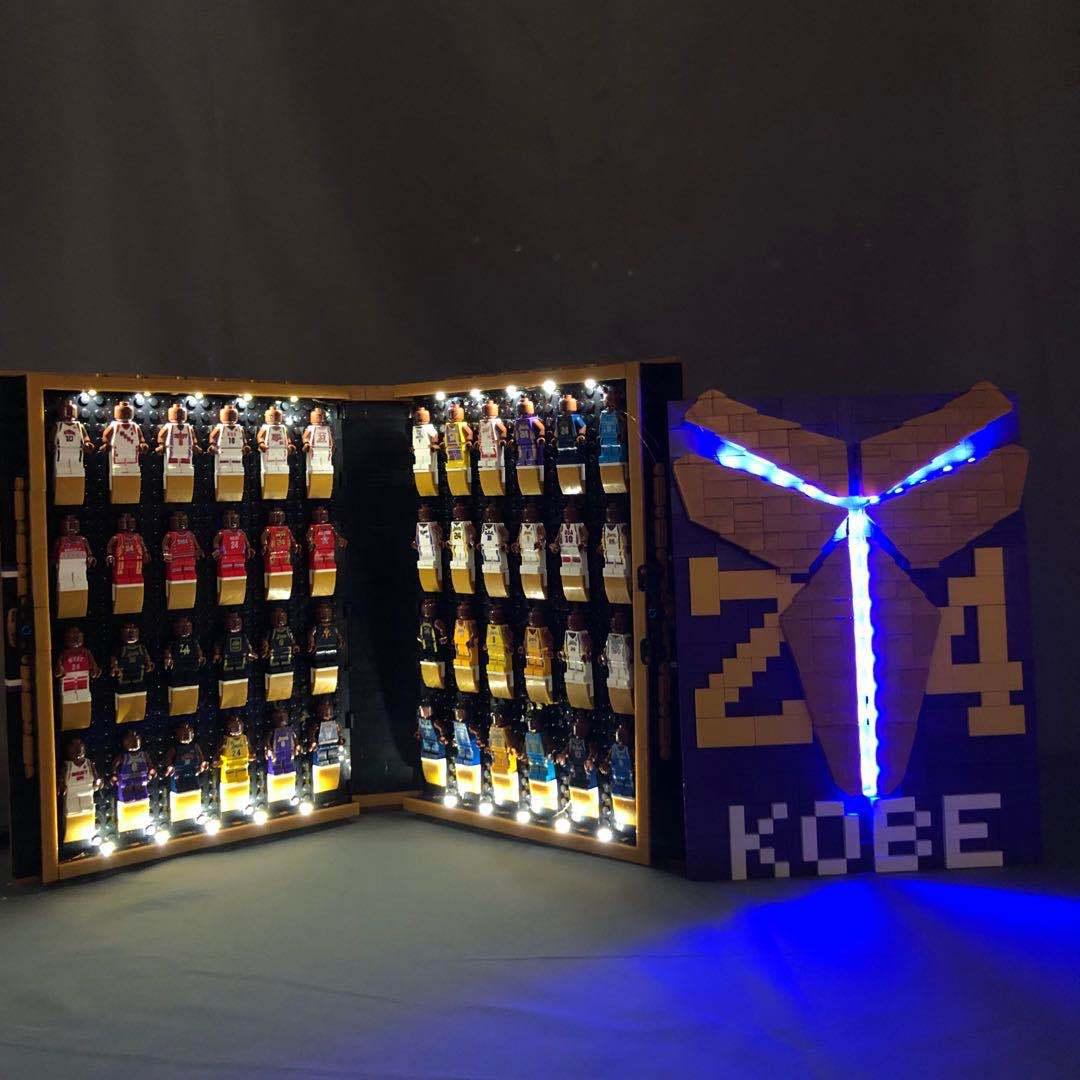 Kobe Building Block Book Lighting Collection Edition Commemorative Album LED Lighting Toys Children's Birthday Gift Boys