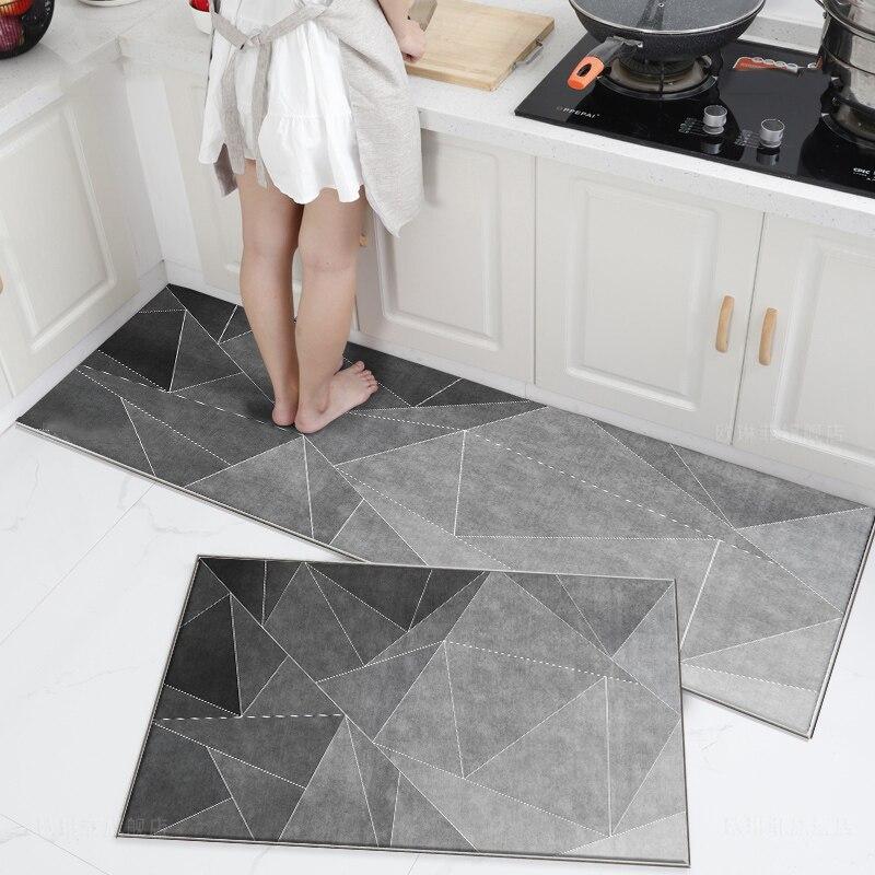 Tapis-alfombras antideslizantes para salón De cocina, Tapetes absorbentes De agua y aceite,...