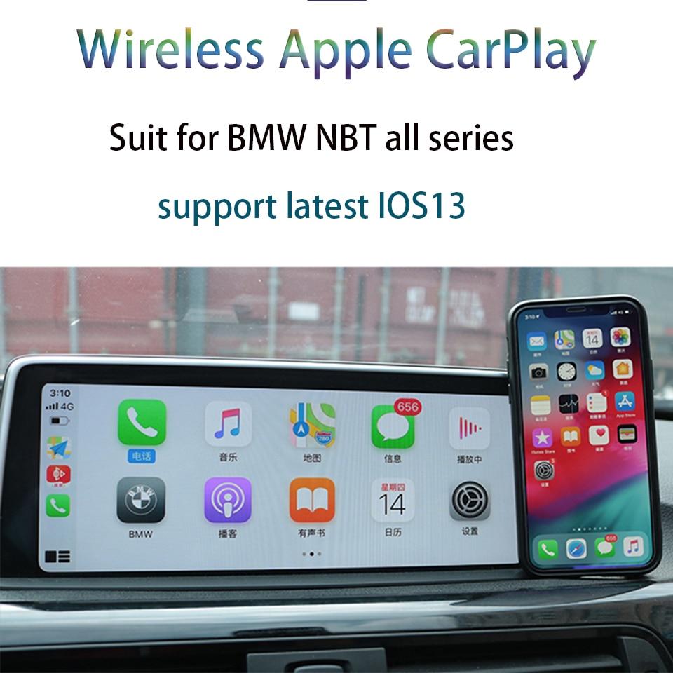 Adaptador inalámbrico Carplay iphone Interfaz de vídeo Multimedia para BMW 3 Series F30 F31 F32 F33 F34 2012-2017 sistema de navegación NBT