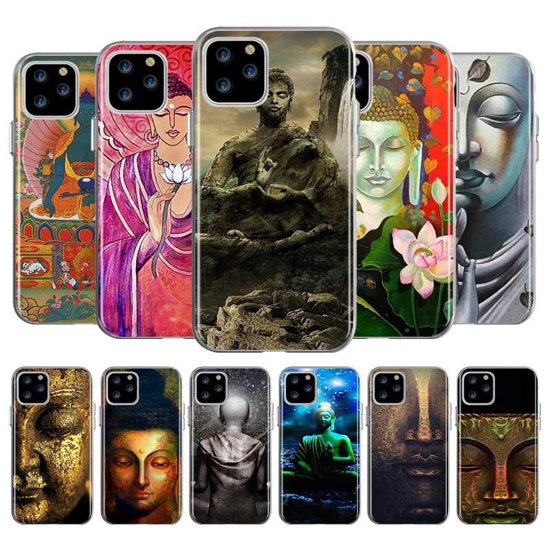 Buda bendiga Caso del Tpu para Apple iPhone 11 Pro Max XS XR X 7 7 6 6S Plus 5 5S SE teléfono 2020 Taschen cubierta Caso