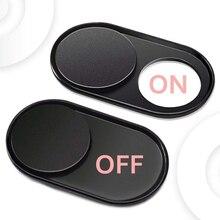 WebCam Cover Shutter Magnet Slider Plastic for Iphone Laptop Camera Web PC Tablet Smartphone Univers