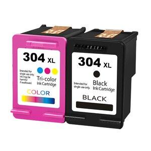 For HP 304 304XL Ink Cartridges for HP304 hp 304 xl Fine Cartridges Deskjet 2620 2630 2632 3720 3730 Envy 5020 5030 5032 Printer