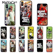MaiYaCa Gta 5 Grand Theft Auto V Telefoon Case voor Xiaomi mi5 6 A1 A2 Lite Mi9 9SE mi8lite 8explorer Pocophone F1