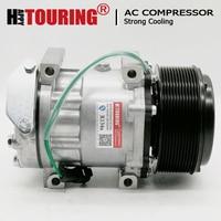 SD7H15 AC Compressor for Caterpillar 320D Excavator 24V SD7H156095 SD7H15-6095 3729295 372-9295 0190504232 CAT372-9295