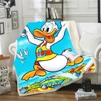 disney flannel fleece throw blanket soft travel blanket bedspread plush cover for bed sofa warm plush blanket kids gift