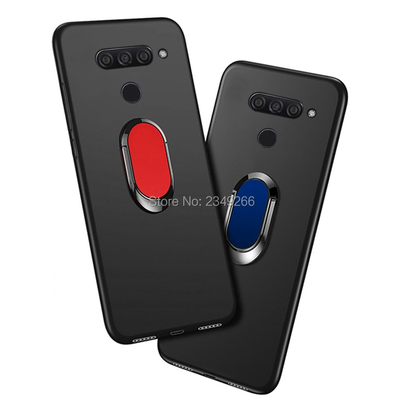 Case for LG V50 ThinQ Cover LG V50 ThinQ 5G V500N 6.4 inch Soft Black Silicone Cover for LG V50 Thin