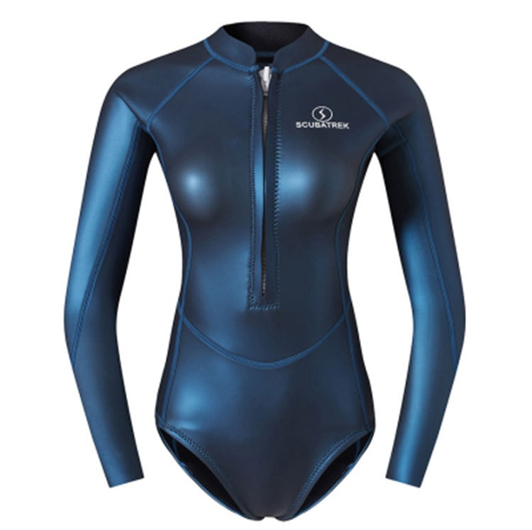 Women 2MM One Piece Neoprene Diving Suit Scuba Swimming Surfing Spearfishing UnderWater Hunting Snorkeling Triathlon WetSuits