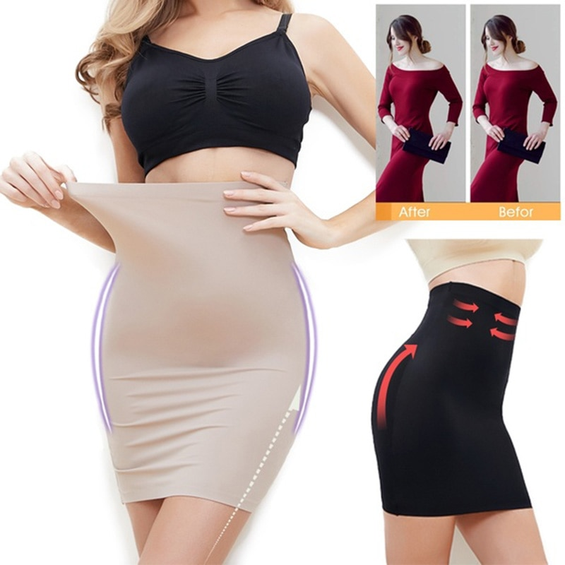 Женское облегающее нижнее белье с высокой талией, гладкое бесшовное облегающее платье, облегающие шорты