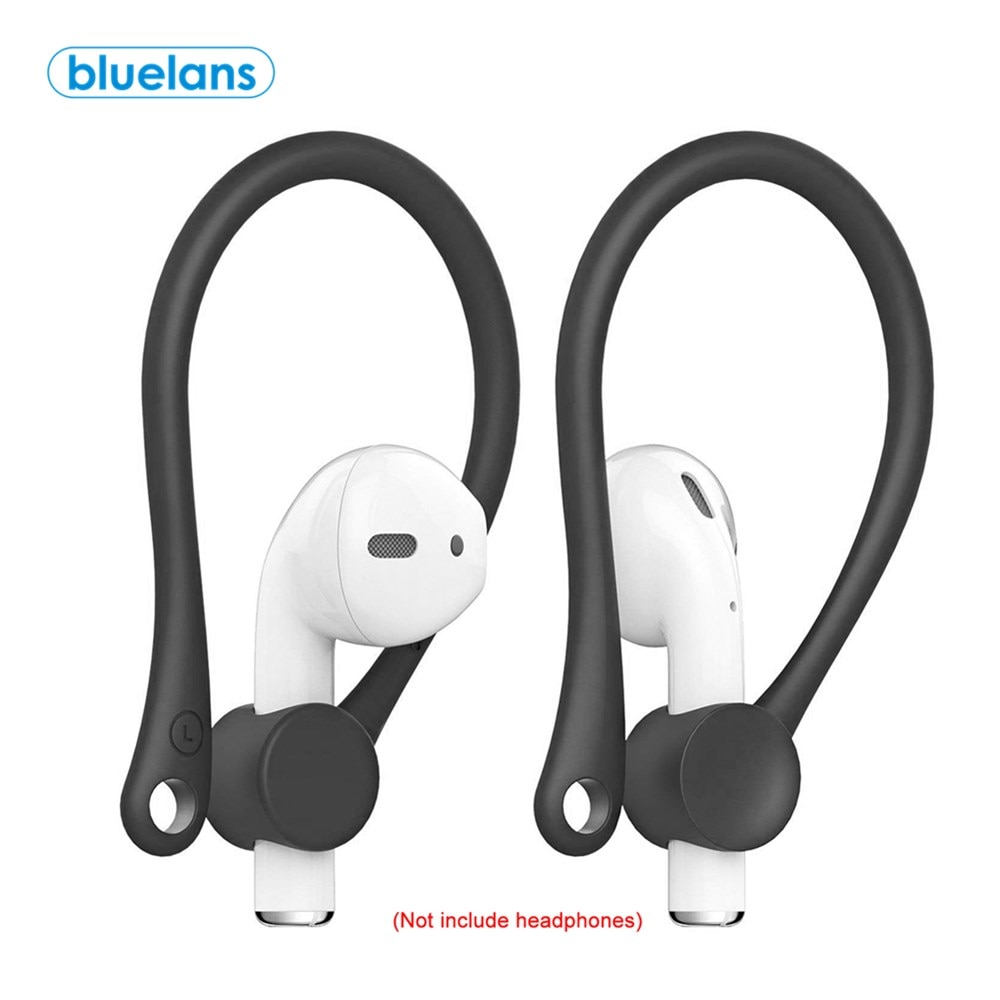 2PCS Mini Anti-fall Bluetooth Wireless Headset Earhooks Earphone Protector Holder Sports Anti-lost Ear Hook for Air-pods 1 2