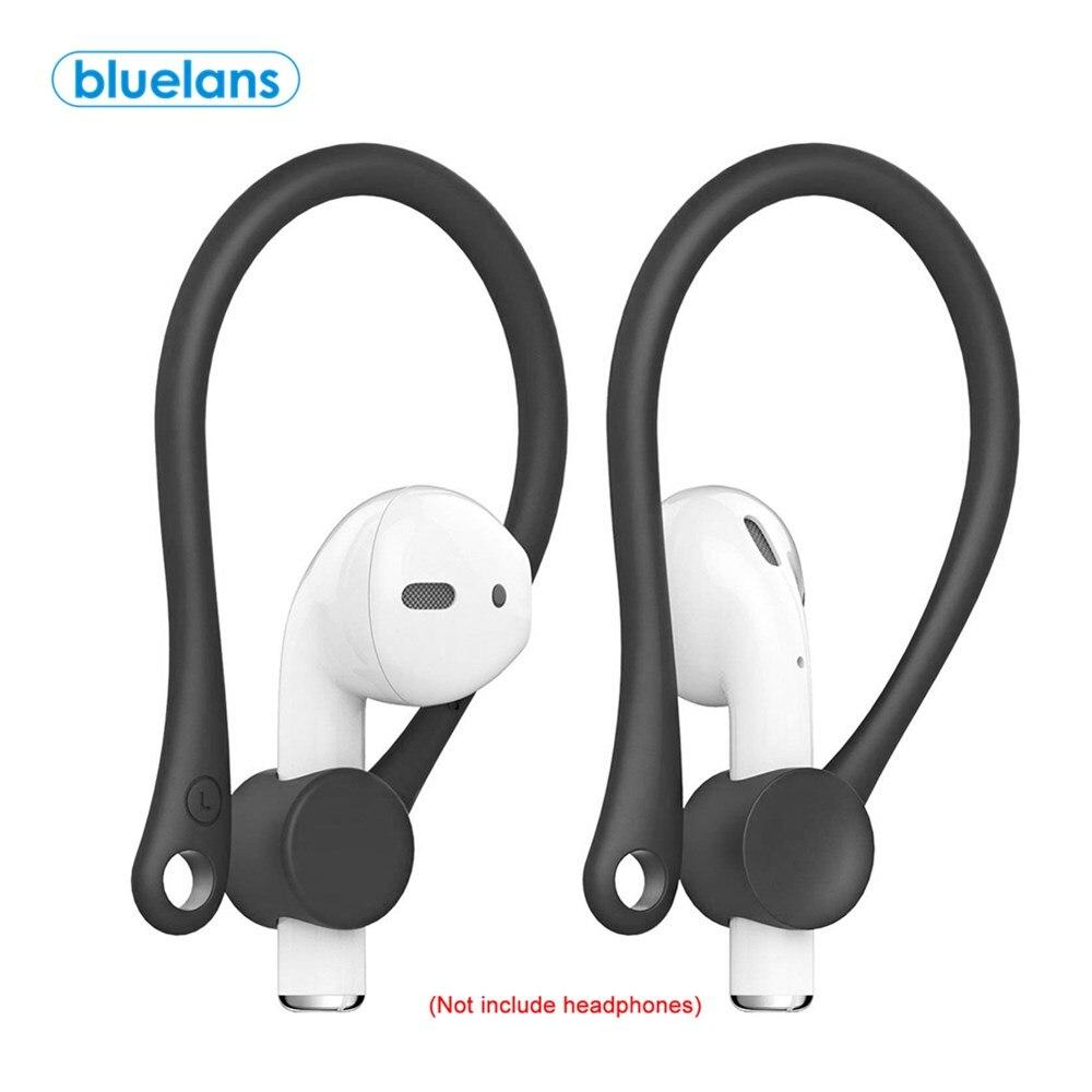 2 uds Mini Anti-caída Bluetooth auriculares inalámbricos Earhooks auricular Protector titular deportes Anti-Pérdida gancho de oído para airpods 1 2