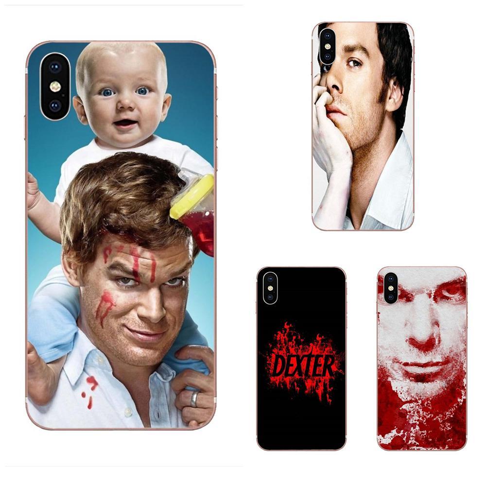 Suave TPU casos Dexter Morgan Tv Show nuevo para Samsung Galaxy Note 5 8 9 S3 S4 S5 S6 S7 S8 S9 S10 5G mini Plus Lite