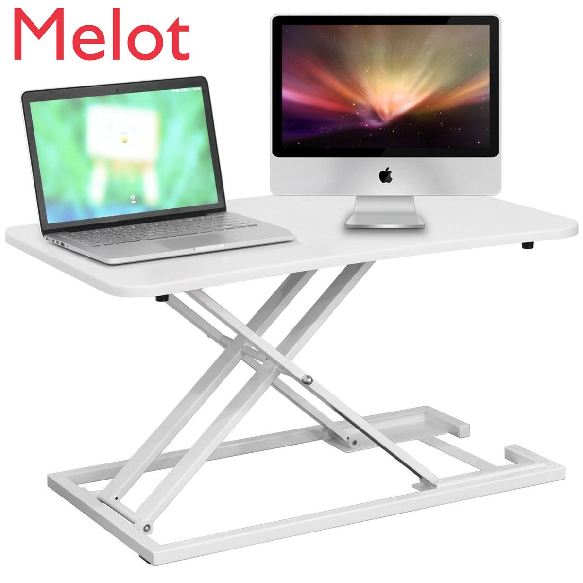 nb fc35 190cm computer sit stand work station desk mount laptop table stand monitor ergonomic desktop with keyboard plate D,2019 Stand-up computer lifting table foldable computer desk stand lift table work station stand with standing desk