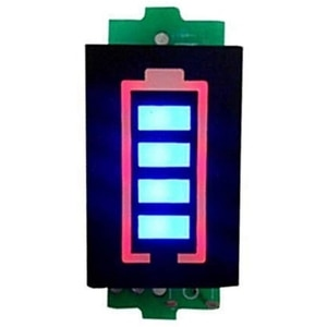 Lithium Battery Display 7S Series 29.4V Lithium Battery Capacity Indicator Electric Vehicle Battery Level Display