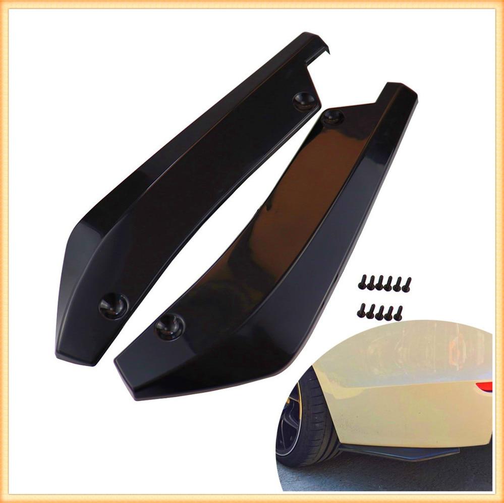 Pára-choques do carro difusor protetor de ângulo fin para mercedes benz s550 s500 iaa g500 ml f125 e550 e350 w205 w201 b200 b150