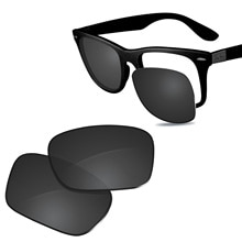 Glintbay New Performance Polarized Replacement Lenses for Ray-Ban RB4195-52 Liteforce Sunglasses - M